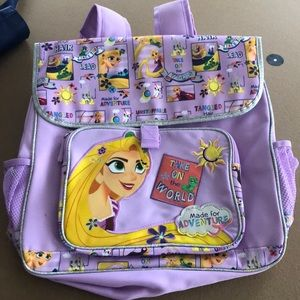 Disney backpack with reusable Disney tote bag